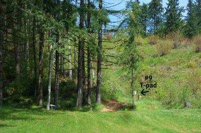 Horning's Hideout, Meadow Ridge, Hole 9 Long approach