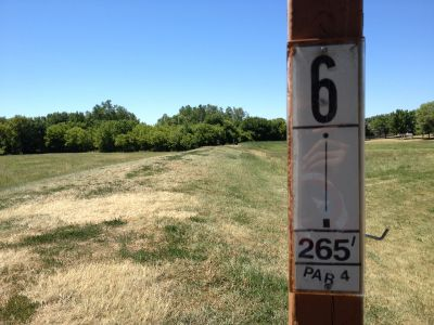 Porter Park, Main course, Hole 6 Tee pad