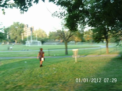 Parc Ignace Bourget, Main course, Hole 8 Putt