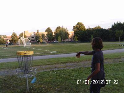 Parc Ignace Bourget, Main course, Hole 6 Putt