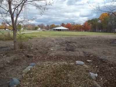 McCurdy Park, Main course, Hole 18 Tee pad