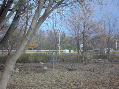 McCurdy Park, Main course, Hole 17 Putt