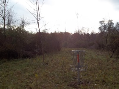McCurdy Park, Main course, Hole 15 Reverse (back up the fairway)