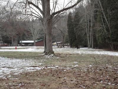 Cedar Lakes, Main course, Hole 14 Short tee pad