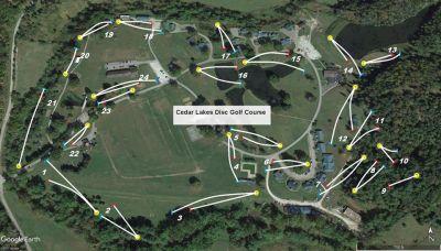 Cedar Lakes, Main course, Hole 10