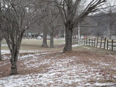 Cedar Lakes, Main course, Hole 17 Short tee pad