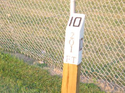 Brys Park, Main course, Hole 10 Hole sign