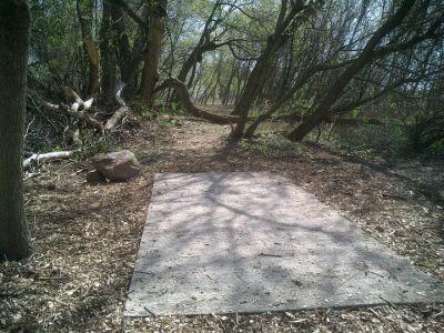 Reed Park, Main course, Hole 4 Tee pad