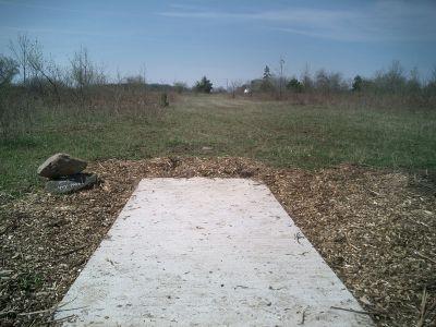 Reed Park, Main course, Hole 6 Tee pad