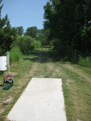 Reed Park, Main course, Hole 15 Tee pad