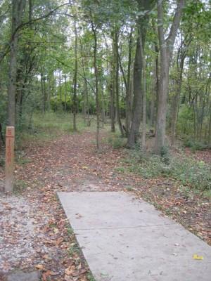 Mary Beth Doyle Park, Main course, Hole 5 Long tee pad