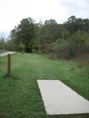 Mary Beth Doyle Park, Main course, Hole 8 Short tee pad