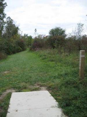 Mary Beth Doyle Park, Main course, Hole 17 Long tee pad
