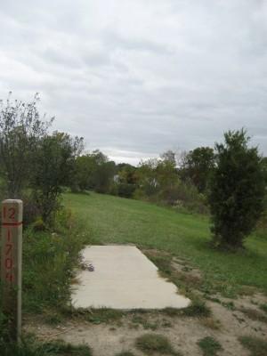 Mary Beth Doyle Park, Main course, Hole 12 Short tee pad