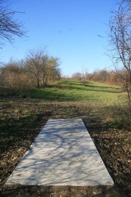 Mary Beth Doyle Park, Main course, Hole 9 Long tee pad