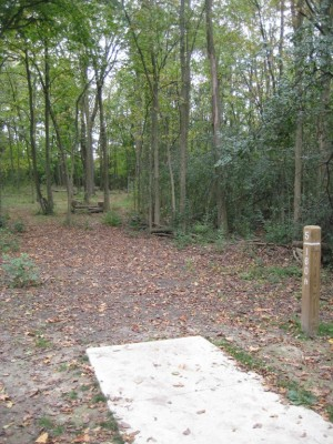 Mary Beth Doyle Park, Main course, Hole 5 Short tee pad