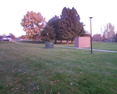 Centennial Park, Main course, Hole 7 Long approach