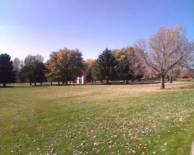 Centennial Park, Main course, Hole 6 Tee pad