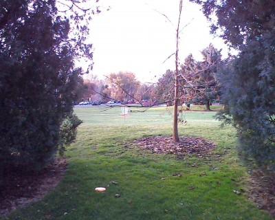 Centennial Park, Main course, Hole 9 Short approach