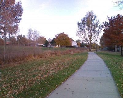 Centennial Park, Main course, Hole 4 Midrange approach