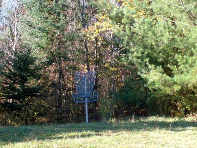 Screaming Heads, Temporary course, Hole 7 Short tee pad