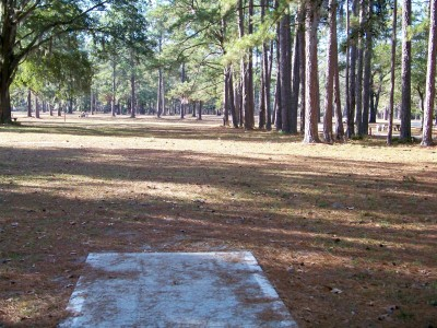 Joshua W. Franklin DGC, Main course, Hole 3 Tee pad