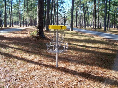 Joshua W. Franklin DGC, Main course, Hole 7 Putt