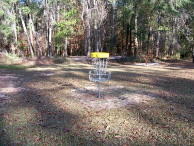 Joshua W. Franklin DGC, Main course, Hole 5 Putt