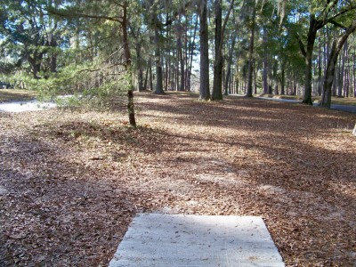 Joshua W. Franklin DGC, Main course, Hole 7 Tee pad