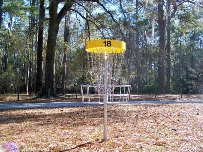 Joshua W. Franklin DGC, Main course, Hole 18 Putt