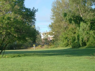 Lions Club of Sudbury DGC, Main course, Hole 5 Midrange approach