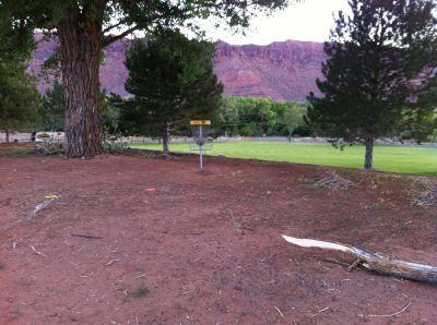 Old City Park, Main course, Hole 18 Putt