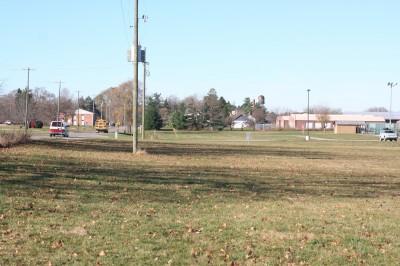 Eaton Rapids Fields, Main course, Hole 9 Tee pad