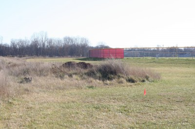 Eaton Rapids Fields, Main course, Hole 4 Tee pad