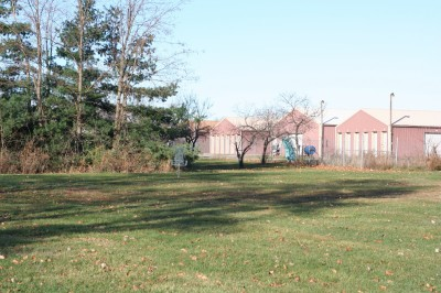 Eaton Rapids Fields, Main course, Hole 1 Short approach