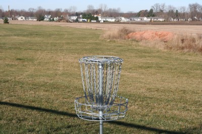 Eaton Rapids Fields, Main course, Hole 4 Reverse (back up the fairway)