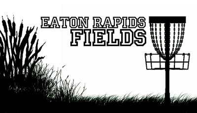 Eaton Rapids Fields, Main course, Hole 1 Tee pad
