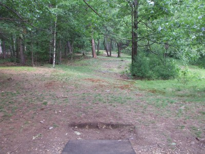 Newton Hill, Main course, Hole 7 Tee pad