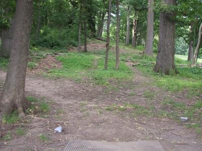 Newton Hill, Main course, Hole 16 Tee pad