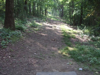 Newton Hill, Main course, Hole 2 Tee pad