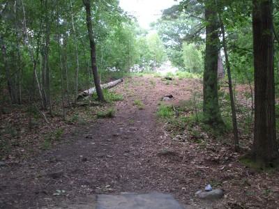 Newton Hill, Main course, Hole 9 Tee pad