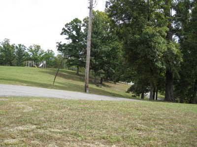 Little Creek Park, Main course, Hole 1 Tee pad