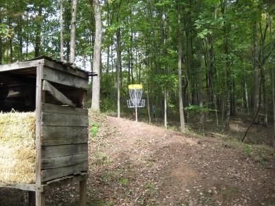 Little Creek Park, Main course, Hole 2 Putt