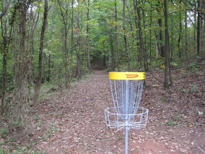Little Creek Park, Main course, Hole 7 Reverse (back up the fairway)