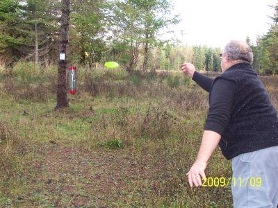 Fir Meadows, Main course, Hole 7 Short approach