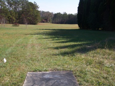Flyboy Aviation, Main course, Hole 24 Tee pad