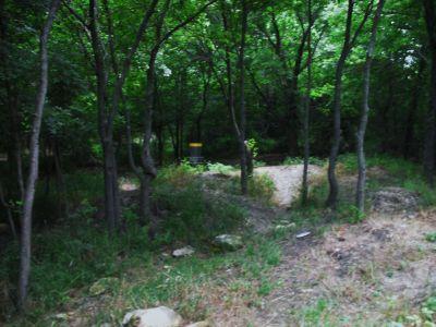 Gateway Park, West (The Privy), Hole 2 Short approach