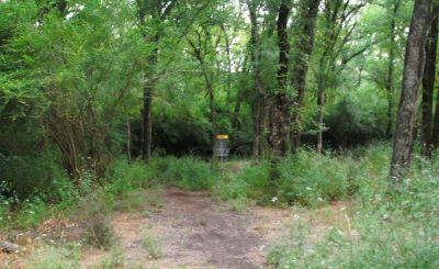 Gateway Park, West (The Privy), Hole 16 Short approach