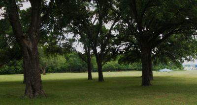 Gateway Park, West (The Privy), Hole 6 Midrange approach