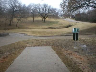 Turner Park, Main course, Hole 17 Tee pad